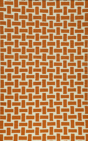 Momeni Laguna LG-02 Orange Area Rug main image