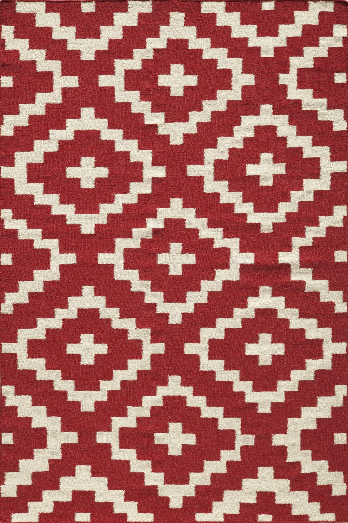 Momeni Laguna LG-04 Red Area Rug main image