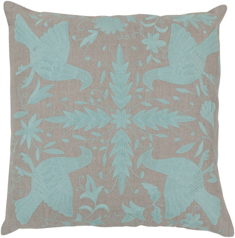 Surya Otomi Delicate Doves LD-019 Pillow by Beth Lacefield