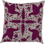 Surya Otomi Delicate Doves LD-024 Pillow by Beth Lacefield