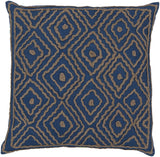 Surya Atlas Multi-Dimensional Diamond LD-025 Pillow by Beth Lacefield 18 X 18 X 4 Down filled