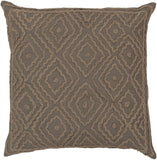Surya Atlas Multi-Dimensional Diamond LD-026 Pillow by Beth Lacefield 18 X 18 X 4 Poly filled