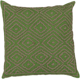 Surya Atlas Multi-Dimensional Diamond LD-028 Pillow by Beth Lacefield 18 X 18 X 4 Down filled