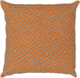 Surya Atlas Multi-Dimensional Diamond LD-029 Pillow by Beth Lacefield