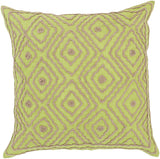 Surya Atlas Multi-Dimensional Diamond LD-031 Pillow by Beth Lacefield 18 X 18 X 4 Poly filled