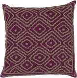 Surya Atlas Multi-Dimensional Diamond LD-032 Pillow by Beth Lacefield