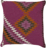 Surya Kilim Tranquil Tribal LD-035 Pillow by Beth Lacefield