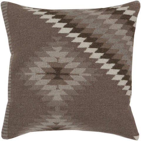 Surya Kilim Tranquil Tribal LD-038 Pillow by Beth Lacefield