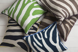 Surya Zebra Color Me Wild LD-039 Pillow by Beth Lacefield