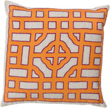 Surya Chinese Gate Looking Glass LD-051 Pillow by Beth Lacefield