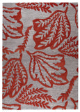 MAT Blanc Leaf Red Area Rug main image