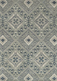 Loloi Leyda LY-07 Grey / Denim Area Rug