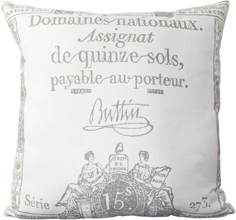Surya Montpellier Facile French LG-508 Pillow
