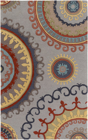Artistic Weavers Lounge Alanna Gray Multi Area Rug main image
