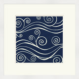 Surya Wall Decor LJ-4151 Blue by June Erica Vess 23 X 23 Square