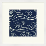 Surya Wall Decor LJ-4152 Blue by June Erica Vess 23 X 23 Square