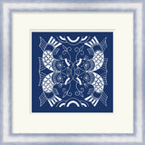 Surya Wall Decor LJ-4159 Blue by Vision Studio 21 X 21 Square