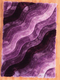 Linon Links Collection RUG-LK11 Purple Area Rug main image
