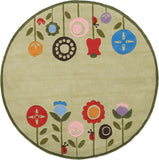 Momeni Lil Mo Whimsy LMJ-7 Grass Area Rug Detail Shot