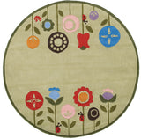 Momeni Lil Mo Whimsy LMJ-7 Grass Area Rug Close up