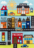 Momeni Lil Mo Whimsy LMJ12 Town Area Rug main image