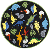 Momeni Lil Mo Whimsy LMJ18 Black Hand Tufted Area Rug