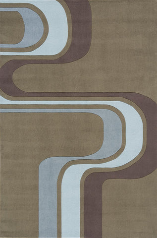 Momeni Lil Mo Hipster LMT-2 Army Green Area Rug main image