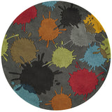 Momeni Lil Mo Hipster LMT-9 Grey Area Rug Close up