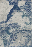 Momeni Loft LO-09 Blue Area Rug Main