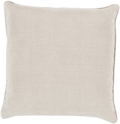 Surya Linen Piped Brilliantly Bordered LP-008 Pillow