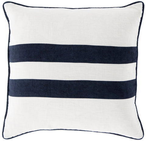 Surya Linen Stripe LS005 Pillow
