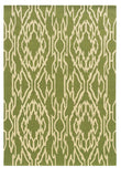 Linon Le Soleil RUG-LS01 Green/Ivory Area Rug main image