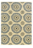 Linon Le Soleil RUG-LS04 Ivory/Blue Area Rug main image