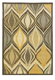 Linon Le Soleil RUG-LS08 Beige/Yellow Area Rug main image