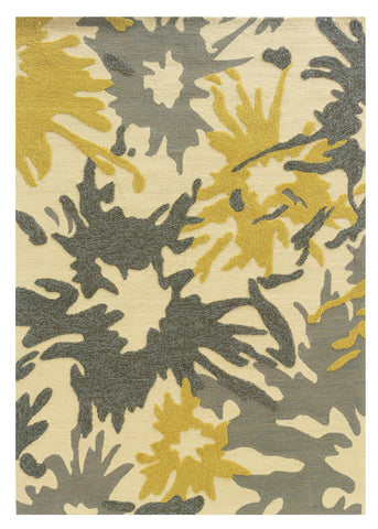 Linon Le Soleil RUG-LS19 Ivory/Yellow Area Rug main image