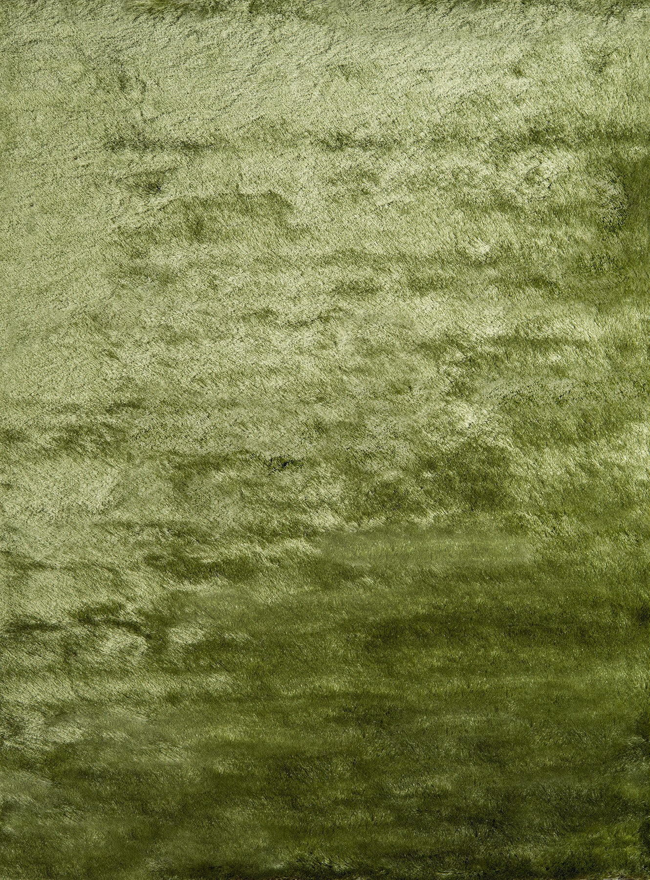 Momeni Luster Shag LS-01 Apple Green Area Rug main image