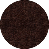 Momeni Luster Shag LS-01 Brown Area Rug Room Scene