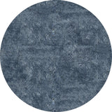 Momeni Luster Shag LS-01 Light Blue Area Rug Detail Shot
