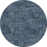 Momeni Luster Shag LS-01 Light Blue Area Rug Close up
