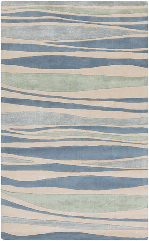 Surya Lighthouse LTH-7030 Teal Area Rug main image