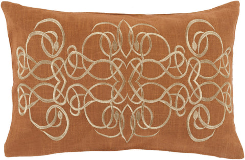 Surya Lucida Sensation of Swirl LU-001 Pillow
