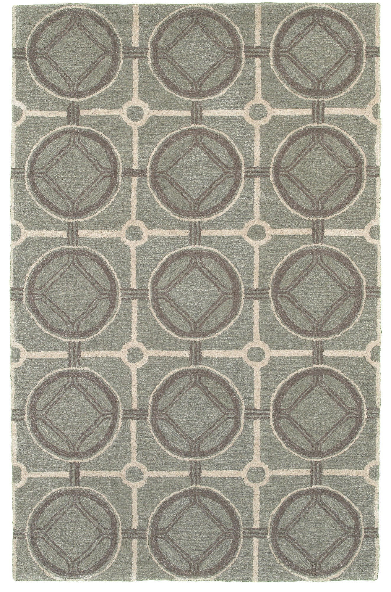 LR Resources Luxor 03850 Smoke Blue Area Rug