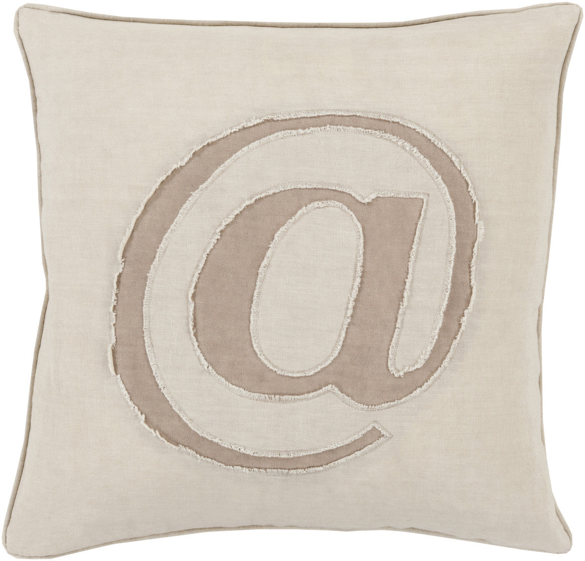 Surya Linen Text Where it's at LX-001 Pillow