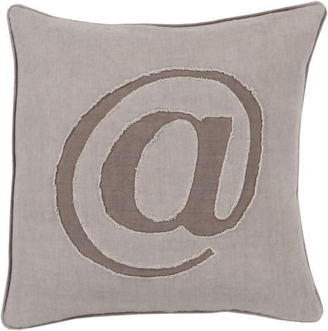 Surya Linen Text Where it's at LX-003 Pillow