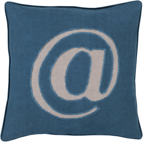 Surya Linen Text Where it's at LX-004 Pillow