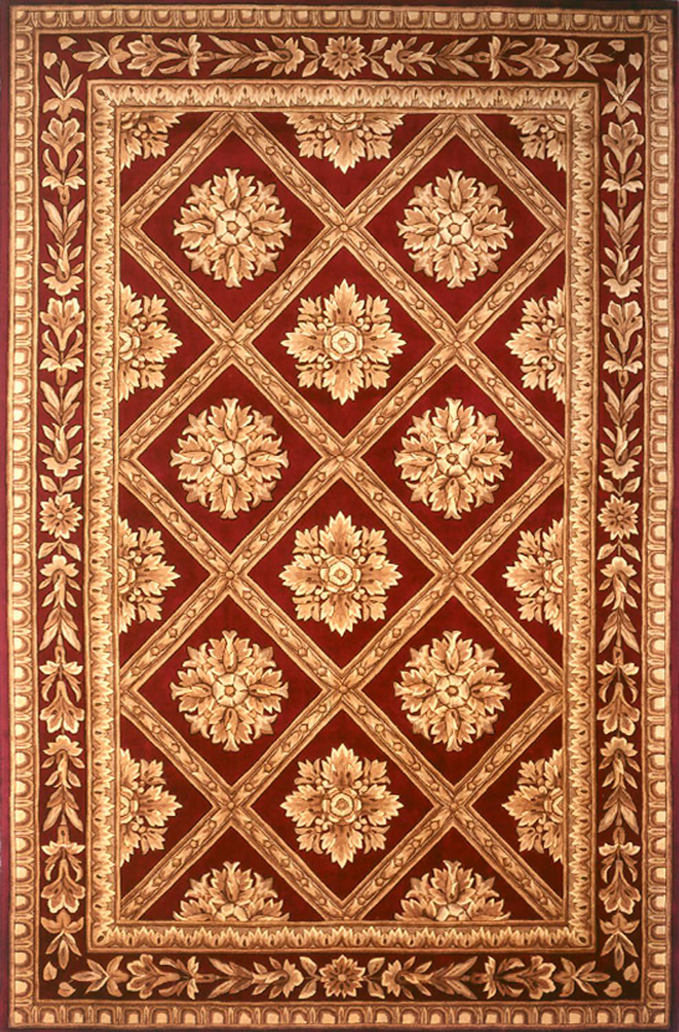 Momeni Maison MA-11 Red Area Rug main image
