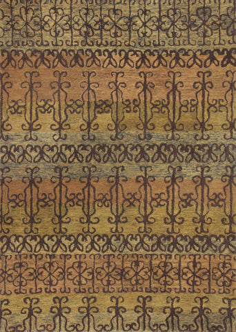 KAS Marrakesh 4510 Spice Syrian Gates Hand Tufted Area Rug