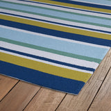 Kaleen Matira MAT08-17 Blue Area Rug Close-up Shot