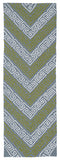 Kaleen Matira MAT11-75 Grey Area Rug Runner Shot
