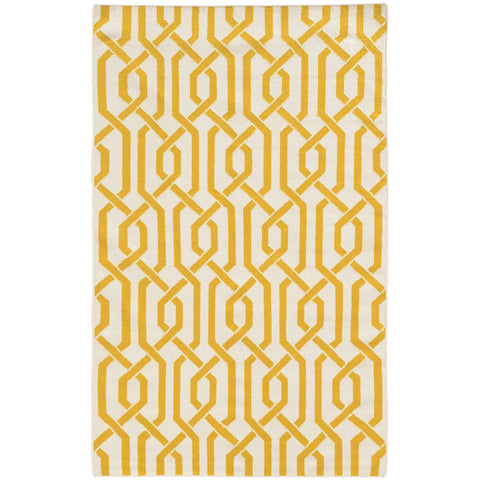 Pantone Universe Matrix 4260L Ivory/Yellow Area Rug main image